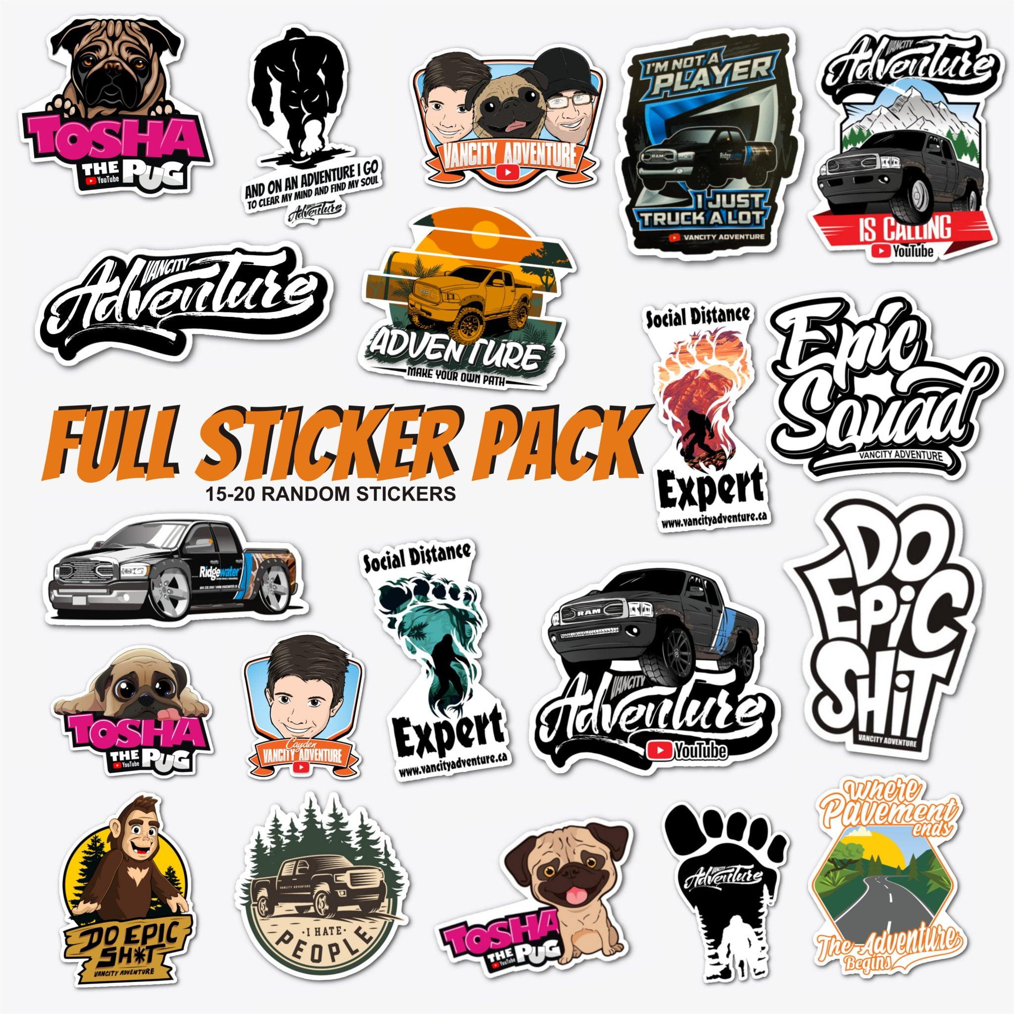 Full Sticker Pack